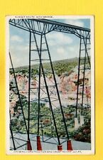 Pecos,TX Texas? Sunset Route,High Bridge,showing construction & Great Height