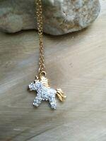 Vintage fifth 5th avenue  unicorn necklace