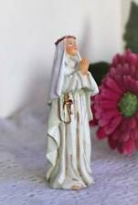 St. Catherine Sienna 3 inch Statue Figurine Gift Box Holy Card Doctor of Church