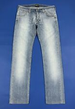 Lee powell jeans uomo usato slim stretch W32 tg 46 denim boyfriend T6257