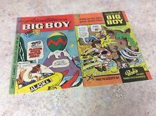 Adventures Of The Big Boy #252 & 295 Comic F/Vf 1978-1981 Big Boy
