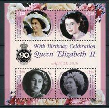 Grenadines Grenada 2016 MNH Queen Elizabeth II 90th Birthday 4v M/S Stamps