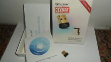 CHIAVETTA USB Nano Wireless Adapter TP-Link WIFI 150 Mbps TL-WN725N INTERNET PC
