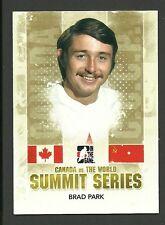 Brad Park 2011 ITG Team Canada vs The World Summit Series Hockey Card #SS06