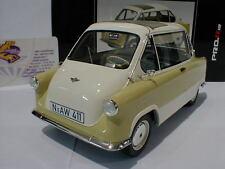"""Schuco Pro.R 00098 - Zündapp Janus Baujahr 1957 in """" beige """" 1:18 NEU"""