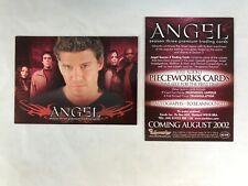 CHEAP PROMO CARD: Angel Season 3 Inkworks 2002 #A3-UK ONE SHIP FEE PER ORDER