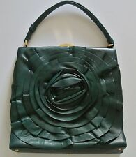 Emerald VALENTINO Nappa Leather Shoulder Bag,11.5x12x3 in, 5.5 in drop,was $2495