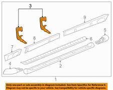 GM OEM Running Board Step-Step Bar Bracket Right 25831412