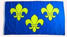 Drapeau Fleur de lys Bleu ROI DE FRANCE ROYAUTE pavillon etendart FLAG 150x90cm