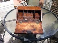 18th or early 19th Century Burl Walnut Writing Desk
