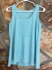 Eileen Fisher Light Blue Sleeveless Top Size Xs