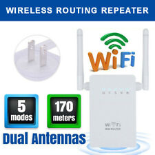 Antenna 300 Mbps Wireless Ripetitore WiFi Router Segnale Range Extender Booster