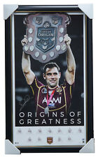 Cameron Smith Signed Queensland Origins of Greatness QRL Retirement Print Framed