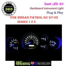 Dashboard Instrument Led Kit Light For Nissan Patrol GU 1997-2005 Series 1 2 3