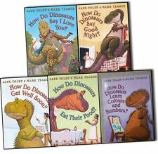 How Do Dinosaurs Collection 5 Books Pack Set- Get Well Soon?, Say I Love You