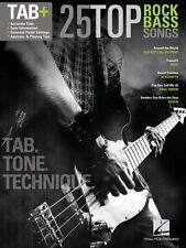 NEW - 25 Top Rock Bass Songs: Tab. Tone. Technique. by Hal Leonard Corp.