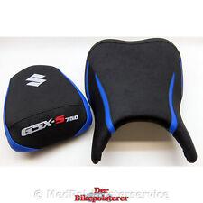 Suzuki GSX-S 750 - KomfortSitzbank: Gel, Ziernaht, 3x Stickerei, Einlegestreifen