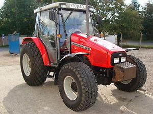 Massey Ferguson Traktor Werkstatt Handbücher 4200 Serie