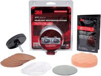 3M-Headlight Lens Restoration System Restorer Kit 39008 Buffing Polish Plastic