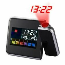 Projection Alarm Clock Radio - Black (649558331053)
