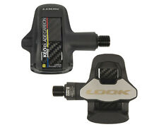 2017 Look Keo Blade Carbon chromo black pedals w/grey cleats set 20 Nm NEW!