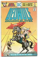 Beowulf Dragon Slayer 5 DC 1975 VF Dick Giordano UFO Horse