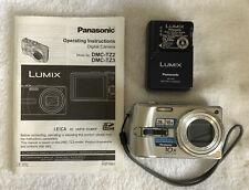 Panasonic LUMIX DMC-TZ3 7.2MP Digital Camera - Silver~~Excellent~~Manual~~