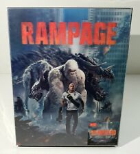 RAMPAGE [2D + 3D] Blu-ray STEELBOOK [HDZETA] LENTICULAR / OOS/OOP #040/300