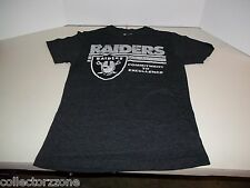 USED - NFL - OAKLAND RAIDERS - COMMITMENT TO EXCELLENCE - BLACK TSHIRT - SMALL