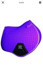 Woof Wear GP Saddlecloth Ultra Violet Full Size