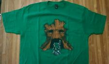 Link Groot Deku Tree Rocket Raccoon Mash-up t-shirt Size Mens S Guardians  Zelda