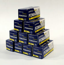 Fomapan 100ASA 120mm Roll Film Pack Of Ten