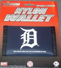 MLB Detroit Tigers Printed Tri-Fold Nylon Wallet by Rico Industries