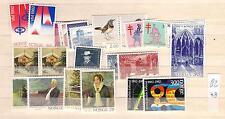 1982 MNH year , Noorwegen, Norway, Norge, Norwegen, Postfris  (NO block)