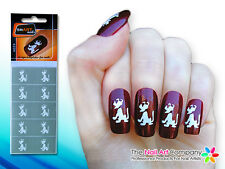SmART-Nails - Puppy Dog Nail Art Stencils N029 Professional Nail Product