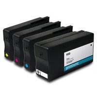 4PK HP 950 951 Ink Cartridges for OfficeJet Pro 251dw 8600 8610 276dw Printers