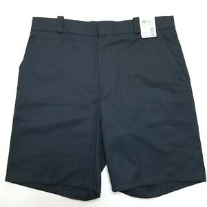 Horace Small Flat Front Shorts - Black - 37R - Black