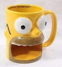 Universal Studios Simpsons Homer Coffee Mug Cup Donut Holder Krustyland