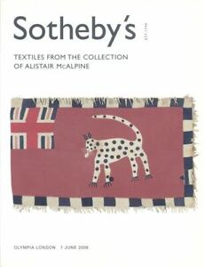 Sotheby's catalogues Textiles From The Collection of Alistair McAlpine part 1