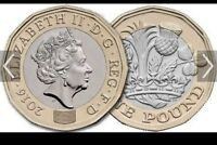 2016 New Royal Mint 12 Sided £1 One Pound Coin Uncirculated From Royal Mint Bags