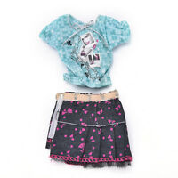 10PCS Handmade Party Clothes Fashion Dress for  Doll Mixed Charm SP