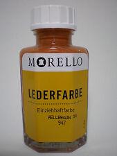 (12,48�'�/100ml) Lederfarbe Morello Einziehhaftfarbe zum färben HELLBRAUN 40 ml