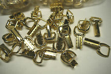 Wholesale 25 pieces Brass Strap holder. gold