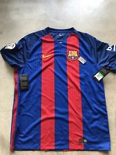 Nike Barcelona Authentic Home Football Jersey 2016 sz XL BNWT Messi 776850 481
