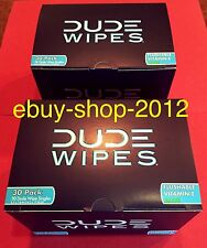 DUDE WIPES 2-BOX 30 PACK(60 Wipes)$pecial! Fast Shipping!🚽🚨