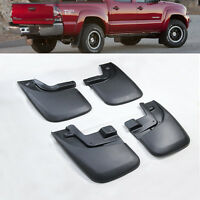 For 2005-2015 Toyota Tacoma Mud Flaps Mud Guards Splash Flares 4 X 4 Front &Rear