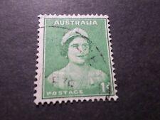 AUSTRALIE AUSTRALIA, timbre 126, REINE, oblitéré, VF used STAMP