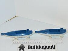 Matchbox Shark Ship Mega Rig Blue Lot 2 Speed Boat Part Only 2007 K9947