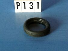 (P131) playmobil piéce vehicule pneu arrière 5 striesvmoto diamètre 28 mm