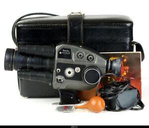 Movie Camera Beaulieu 4008 ZM Super 8 camera with Angenieux 8-64, f:1.9 zoom